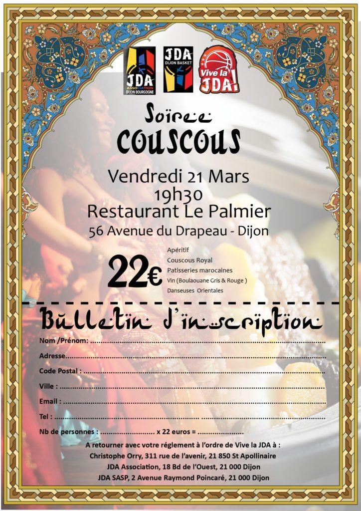 couscous inscription