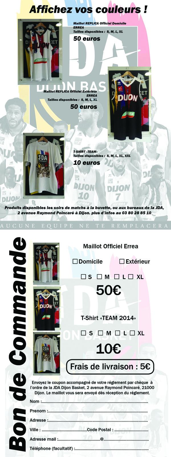offre maillots
