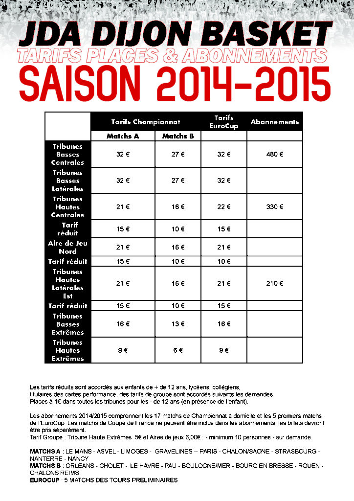 tarifs 20142015 v2