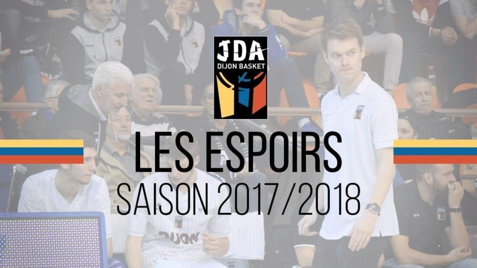 Les espoirs, saison 2017/2018