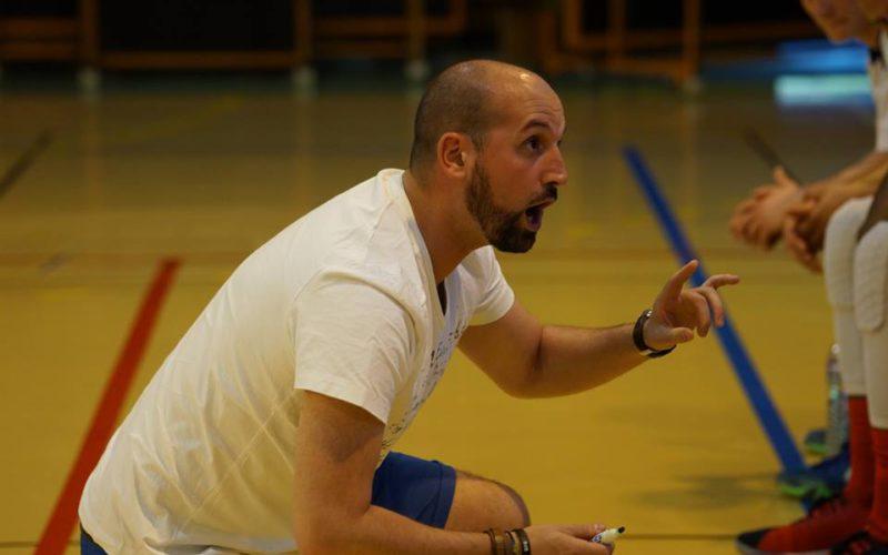 Frédéri Lambert, nouveau coach des U18 Élite
