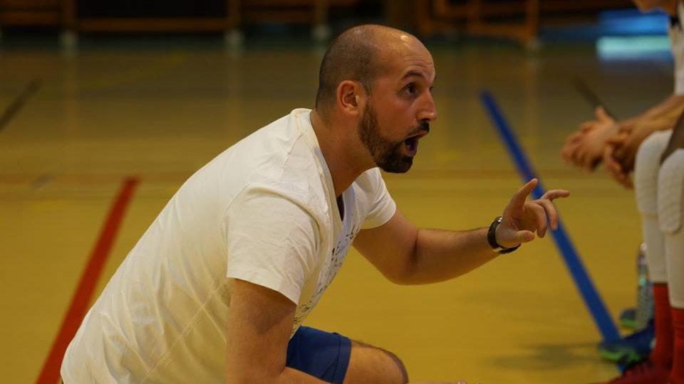 Frédéri Lambert, nouveau coach U18