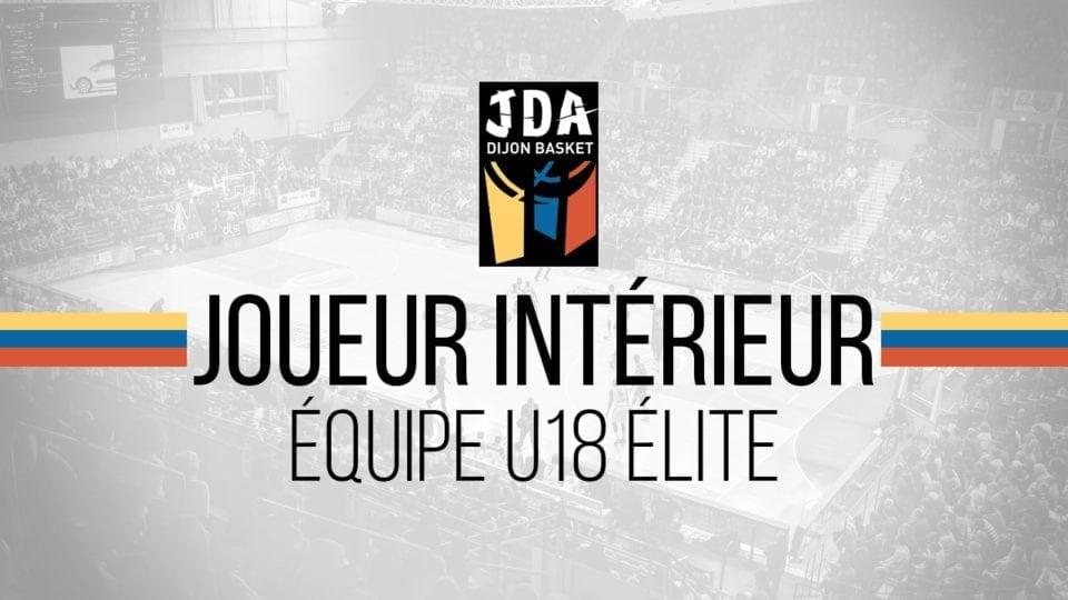 Recherche d'un intérieur pour l'équipe des cadets France