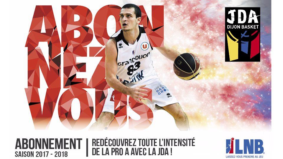 Abonnements JDA Dijon Basket