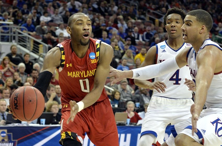 Rasheed lors de la March Madness avec Maryland