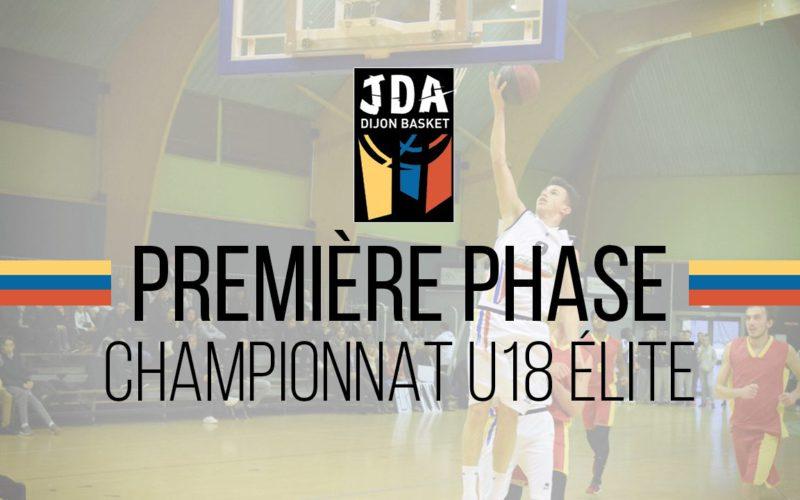 Découvrez la première phase de championnat des U18 Élite