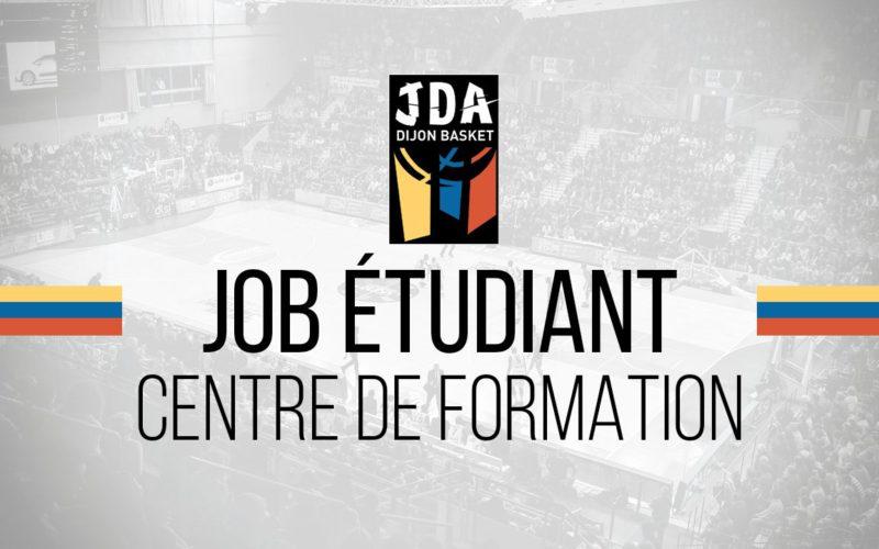 La JDA Dijon Basket propose un job étudiant