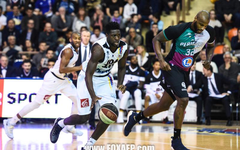 La JDA Dijon Basket s'impose en faisant le show