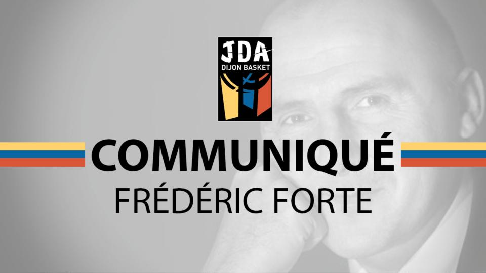 Disparition de Fred Forte