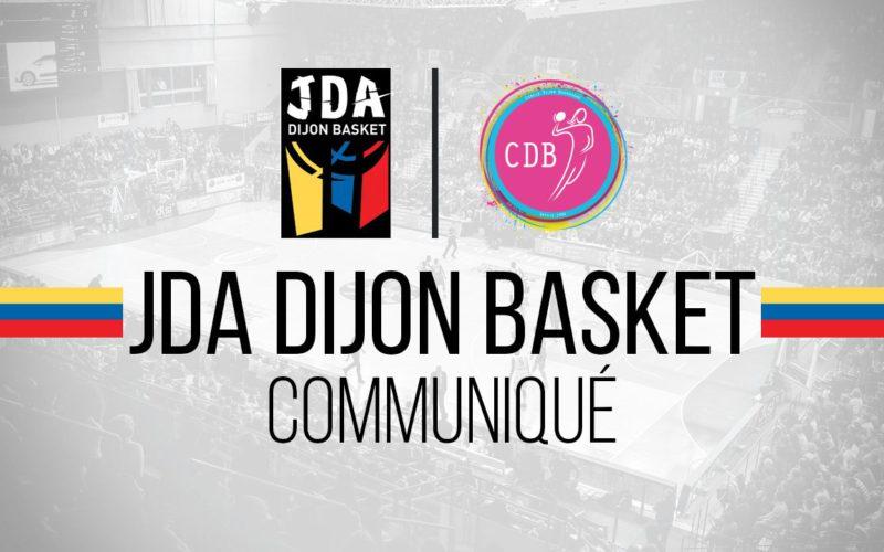 Communiqué de la JDA Dijon Basket