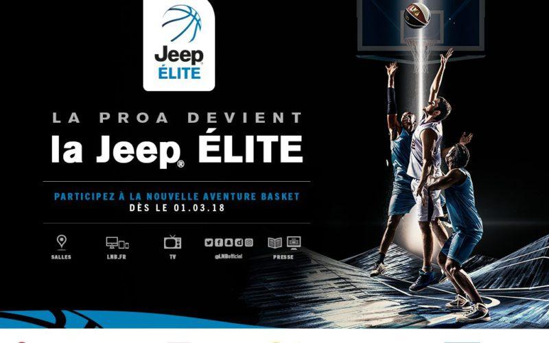 La Pro A devient la Jeep Élite