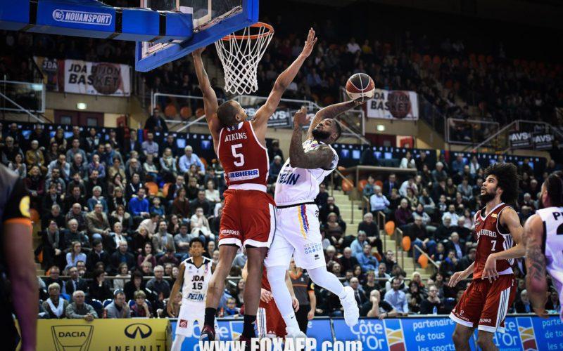 Steve Taylor Jr quitte la JDA Dijon Basket