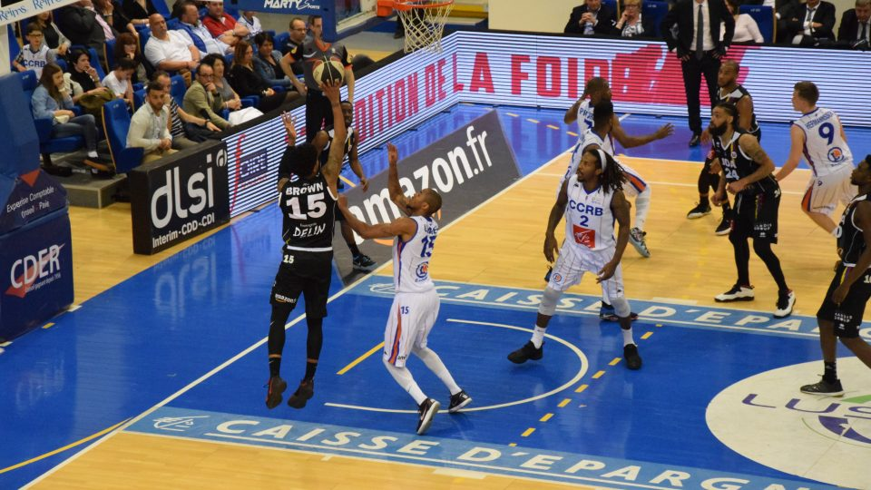 Rion Brown Chalons Reims