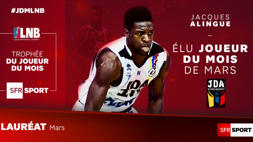 Jacques Alingue MVP mars
