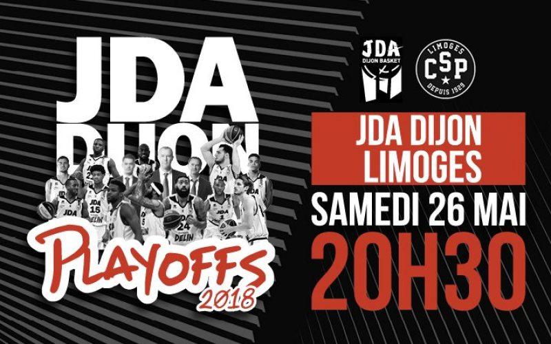 La JDA Dijon en playoffs : toutes les infos !