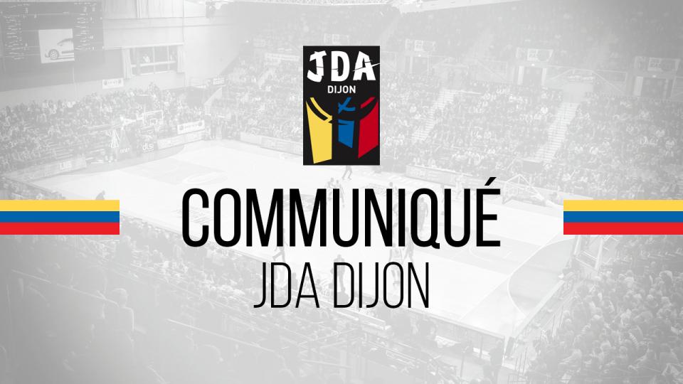 Communiqué JDA DIJON