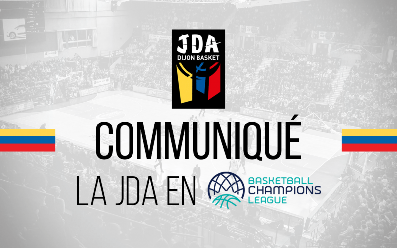 La JDA Dijon en Basketball Champions League