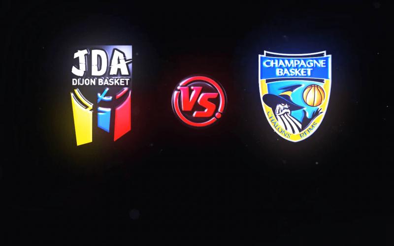 JDA Dijon – Châlons-Reims en vidéo