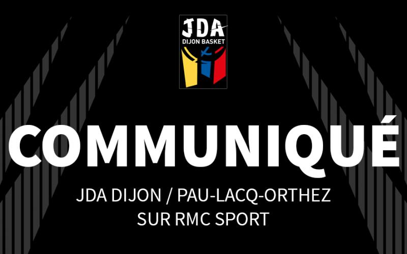 Changement de date pour JDA Dijon – Pau-Orthez