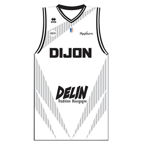 38214d85e4204 Maillot officiel domicile 18/19 + flocage - JDA Dijon Basket