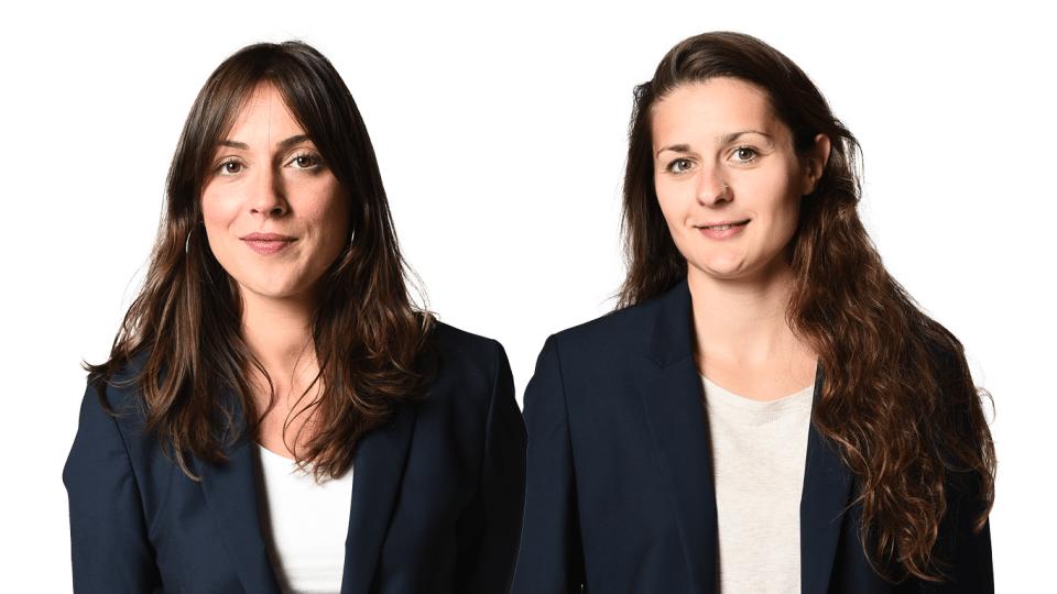 Célia et Marjolaine