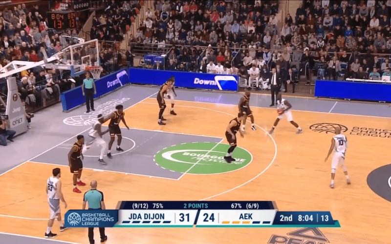 JDA Dijon – AEK Athènes en vidéo