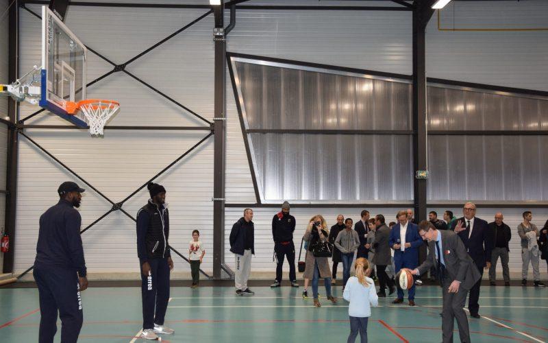 L'inauguration d'un nouvel équipement sportif à Pontailler en images