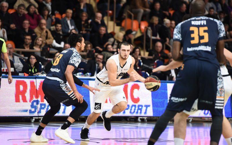 Les Dijonnais s'inclinent de 2 points face à Gravelines-Dunkerque