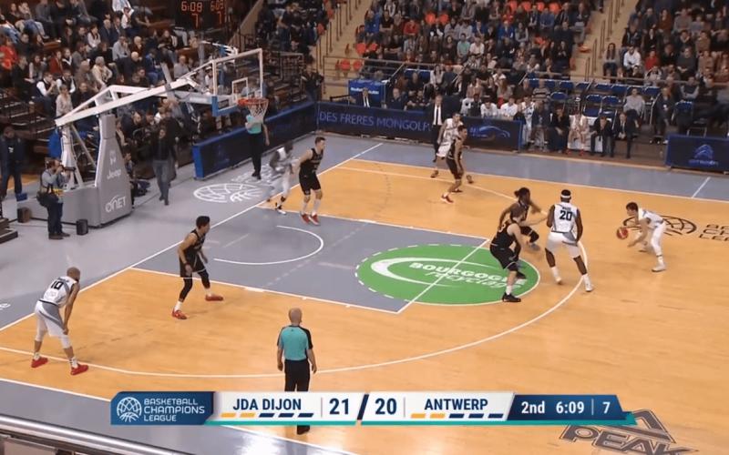 JDA Dijon – Anvers en vidéo