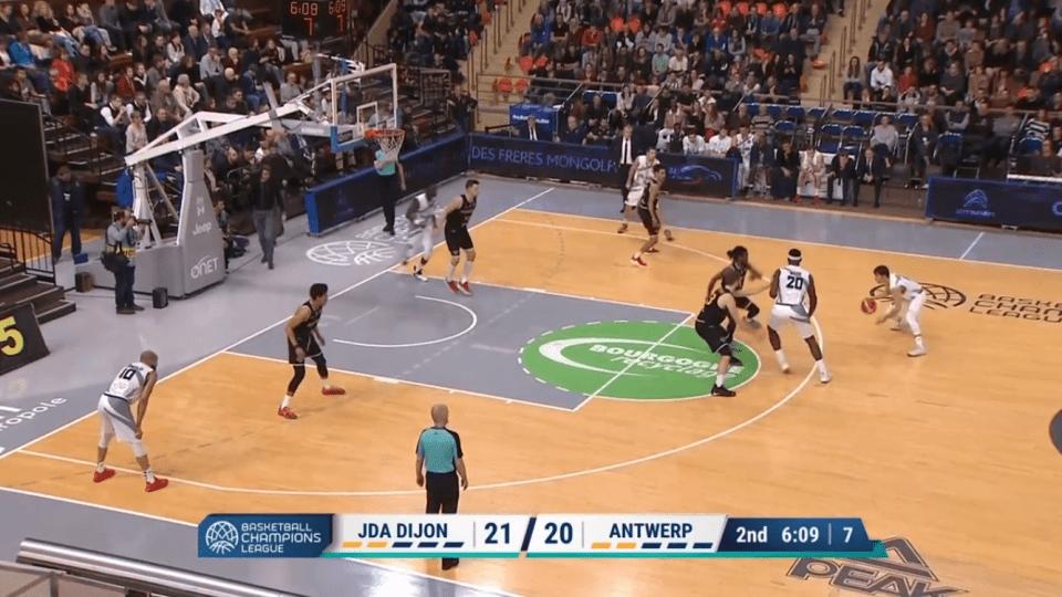 JDA Dijon - Anvers
