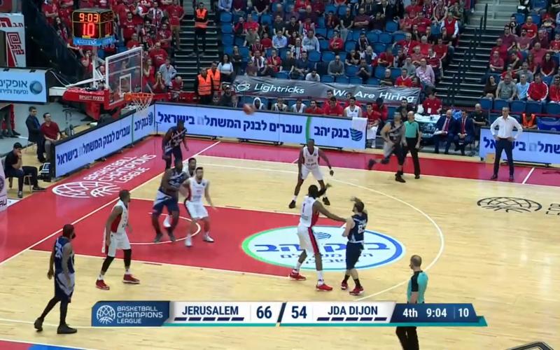 Hapoel Jerusalem – JDA Dijon en vidéo