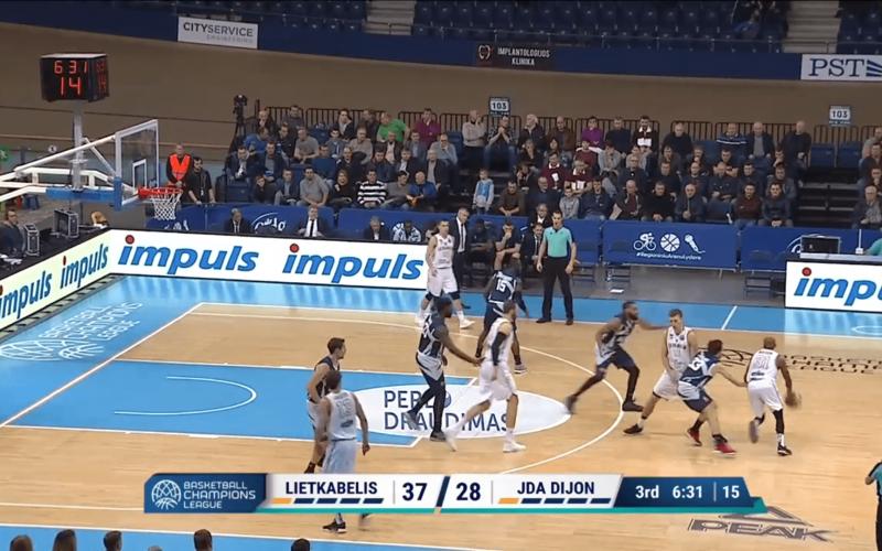 Lietkabelis – JDA Dijon en vidéo