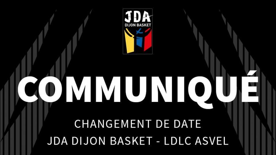 Changement JDA-Asvel