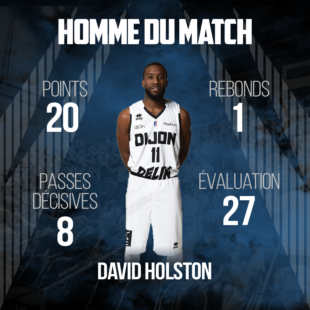 Homme du match Holston