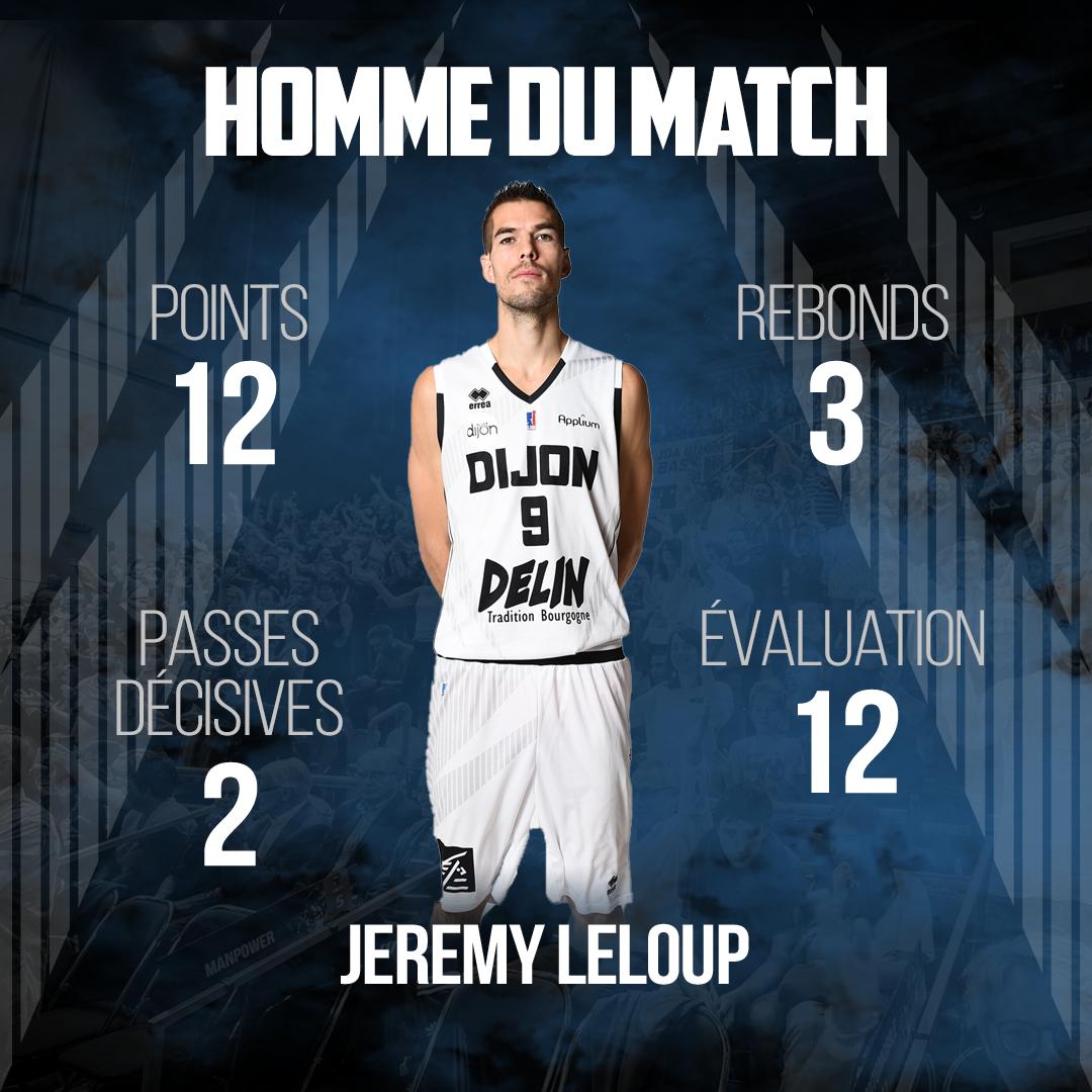 MVP Jeremy Cholet