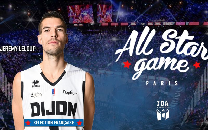 Jérémy Leloup intègre la sélection française du All Star Game