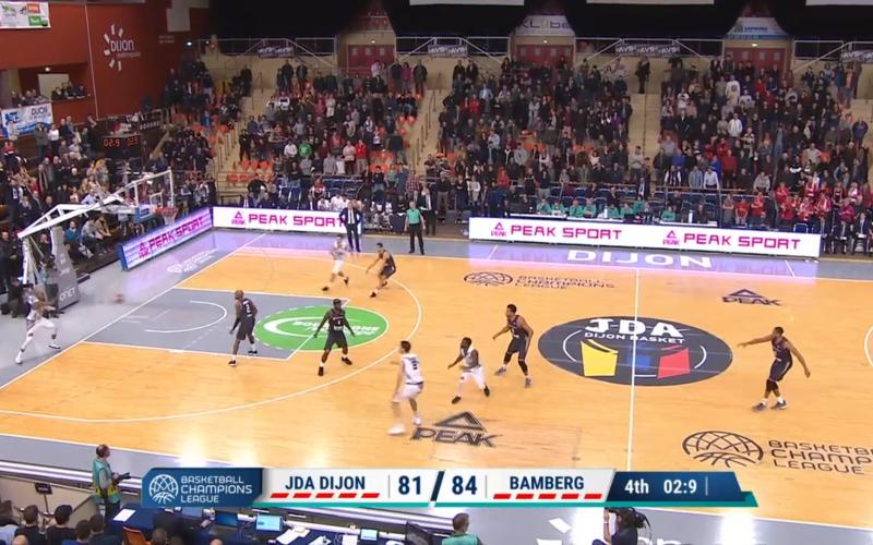 JDA Dijon – Bamberg en vidéo