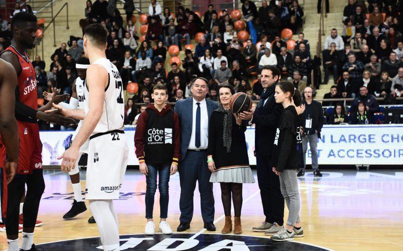 Rêve de basket à l'occasion de JDA Dijon -Strasbourg