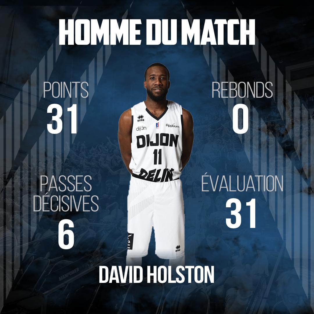 David Holston MVP