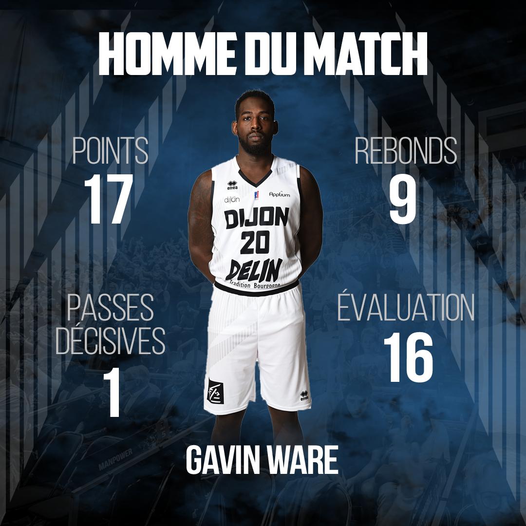 MVP Gavin Ware