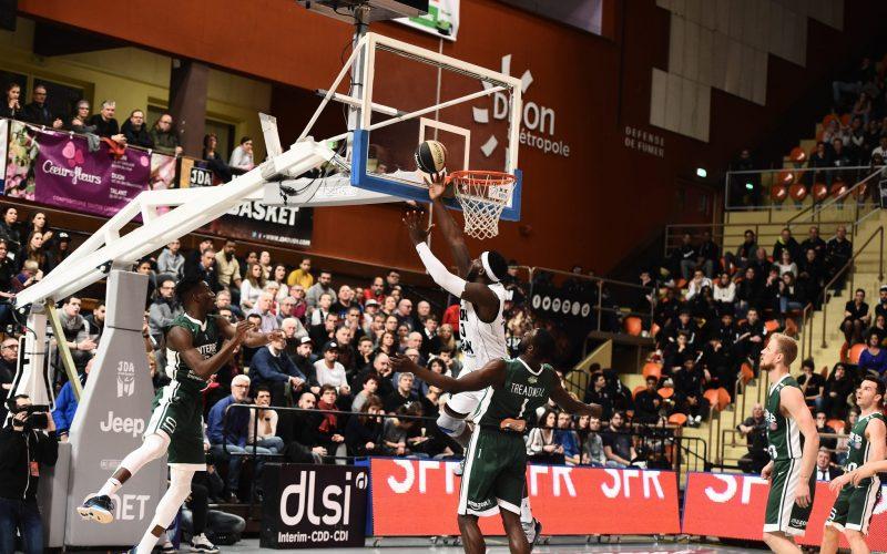 Une nouvelle équipe du Top 3 tombe à Dijon : Nanterre