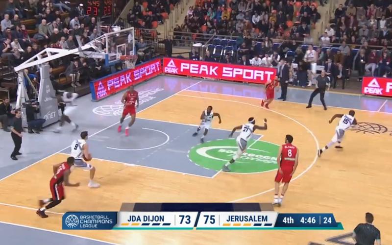 JDA Dijon – Jérusalem en vidéo