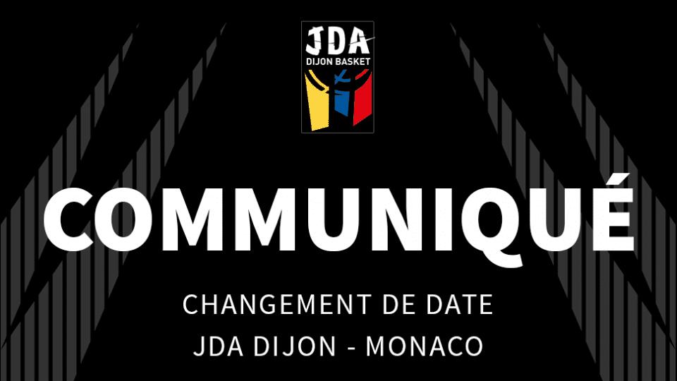 JDA Dijon - Monaco
