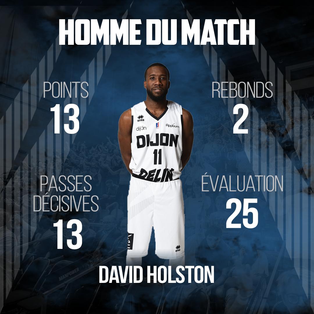 MVP David Holston