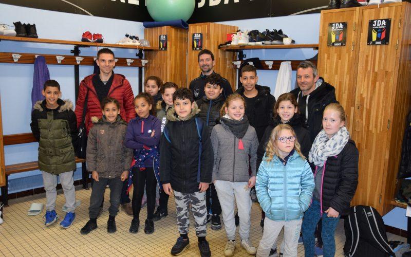 L'opération Dijon Sport Loisirs Jeunes de passage au Palais