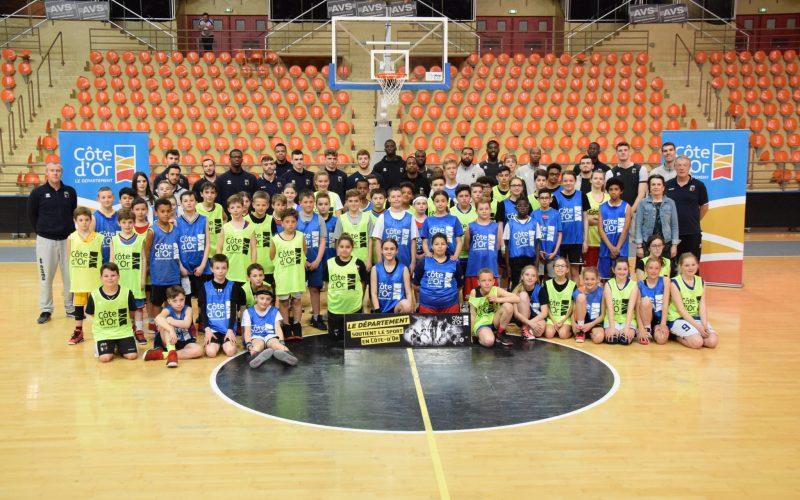 Nouveau «Jour de basket» avec le Département de la Côte d'Or