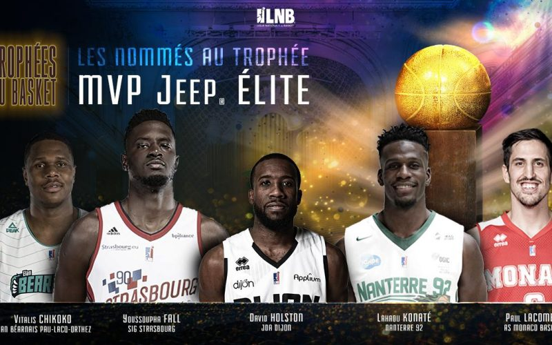 David Holston nommé pour être MVP de Jeep ELITE !
