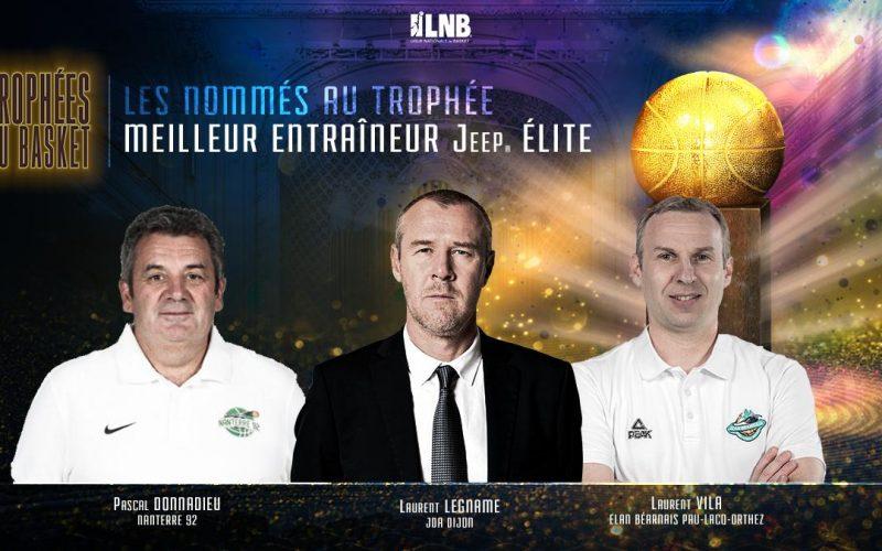 Laurent Legname nommé pour être le meilleur entraineur de Jeep ELITE