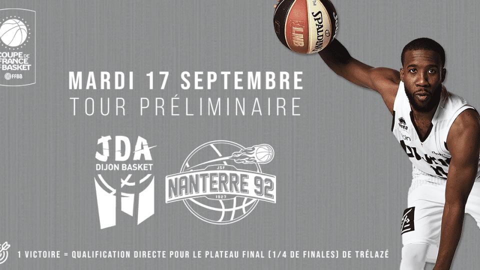 Coupe de France Dijon-Nanterre