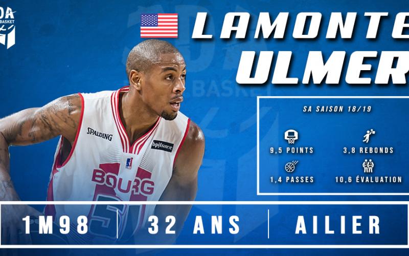 L'explosif Lamonte Ulmer débarque à Dijon !